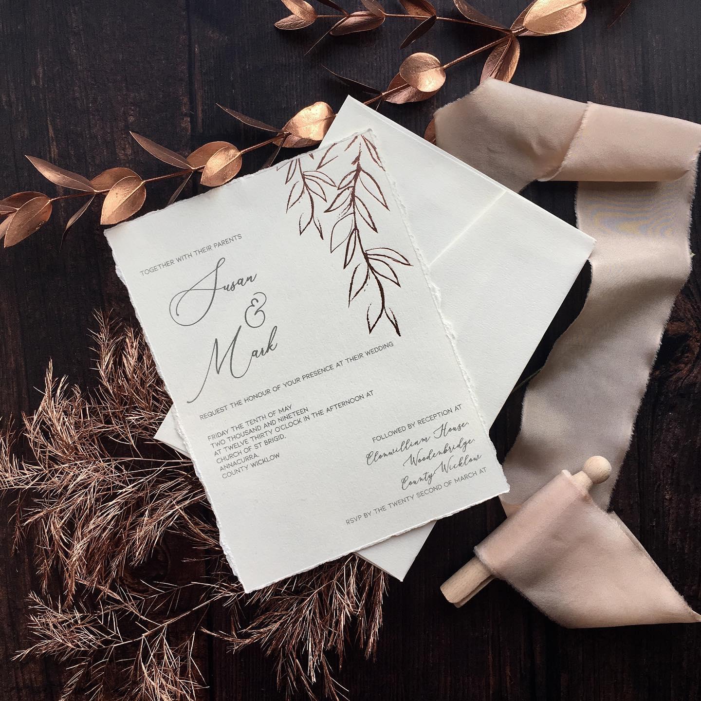 Luxury Wedding Stationery Cork