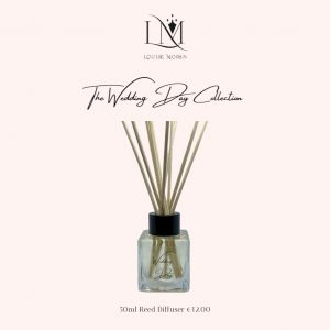 Luxury Reed Diffuser - Wedding Day Collection LM by Louise Moran